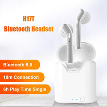 H17T TWS Wireless Headphones Bluetooth 5.0 Earphones In-ear HiFi Bass Stereo Headset with Charging Case for IOS Android Phone - CHANCEUSES