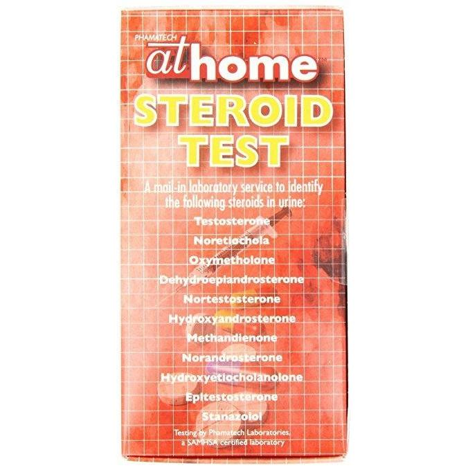 atHome Steroid Abuse Urine Test Kit - 9125 - 1007-STR-01-Countrywide Testing