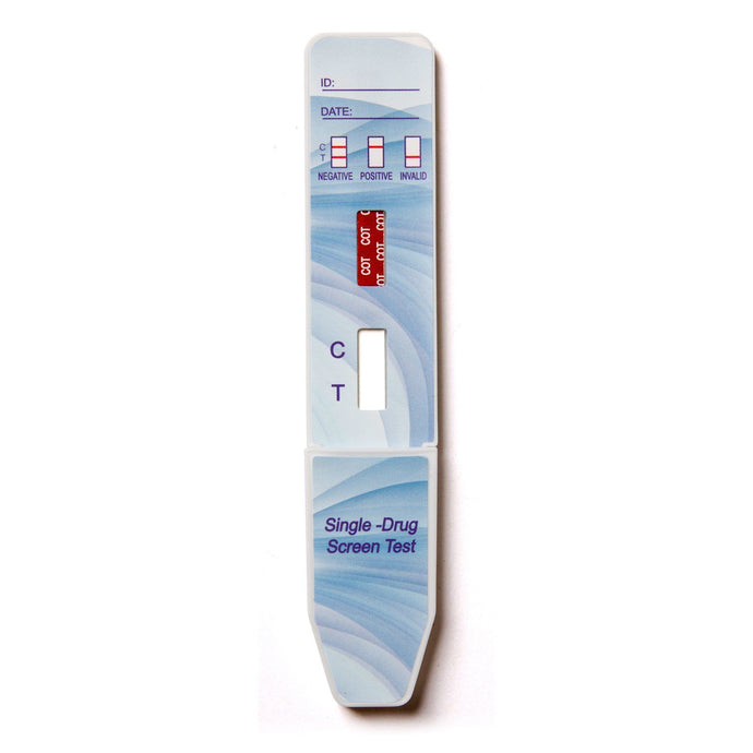 1 Panel QuickScreen Cotinine / Nicotine Test Dipcard - HDCT-114 Dip Cards Medical Dimension 1PK