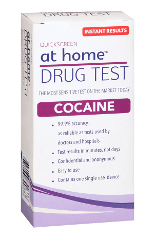 Cocaine - At Home Test Countrywide Testing