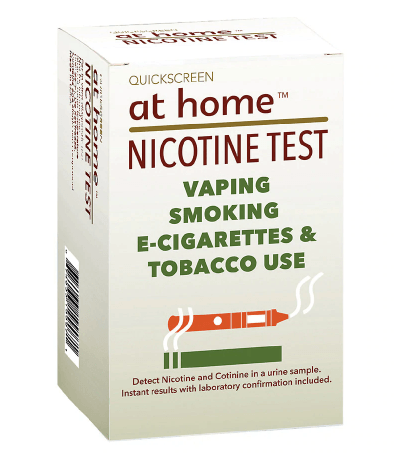 Nicotine - At Home Drug Test 1 Panel,Dip Cards Countrywide Testing
