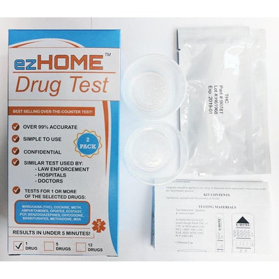 Load image into Gallery viewer, EZ Home Drug Test 12 Drug Test - 9308T - MET, MDMA, AMP, MDA, THC, COC, OPI, BAR, BZD, PCP, MTD, OXY Short Date (Expires January 2019) - Countrywide Testing