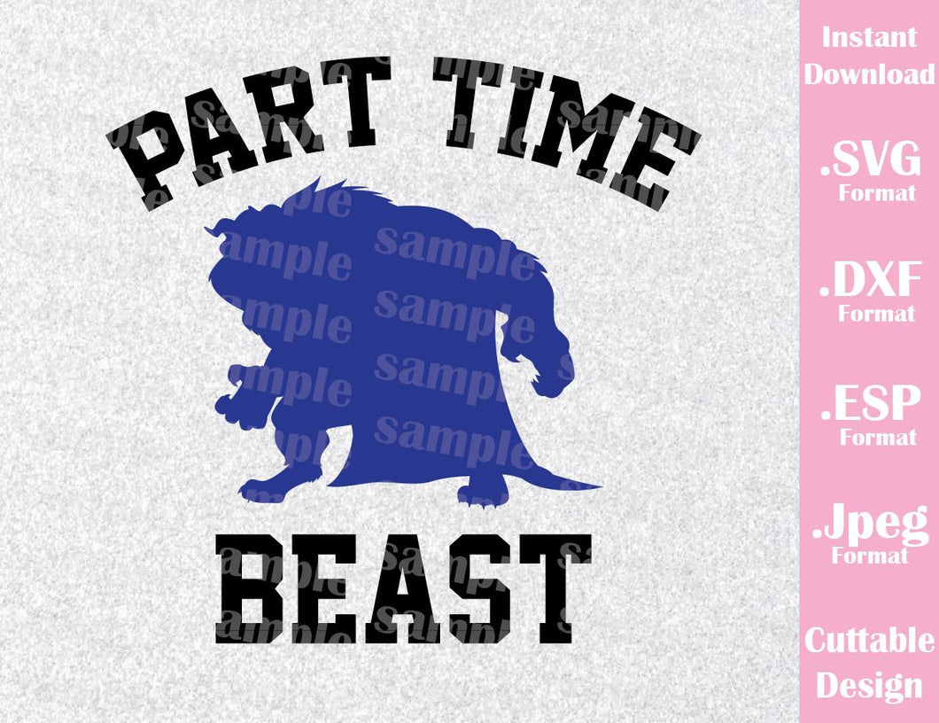 Beast Quote Disney Inspired from Beauty and the Beast Cutting File in SVG, ESP, DXF and JPEG Format