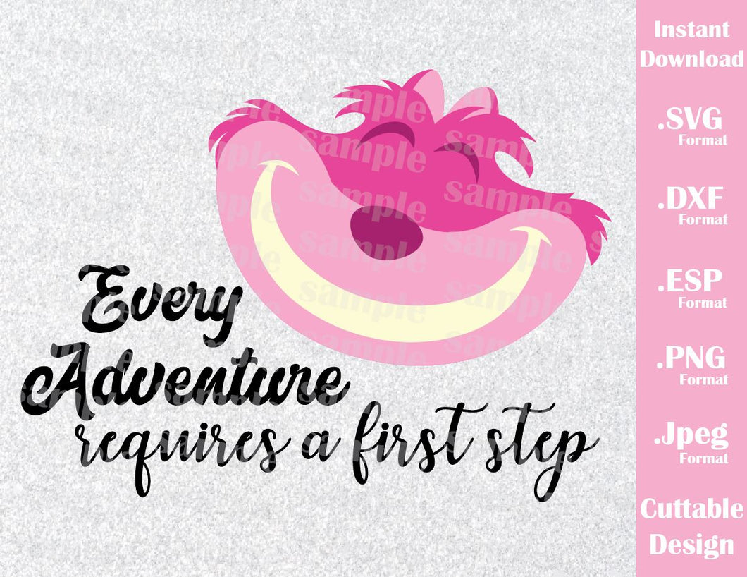 Cheshire Cat Quote Alice In Wonderland Inspired Cutting Files In Svg Ideas With Love