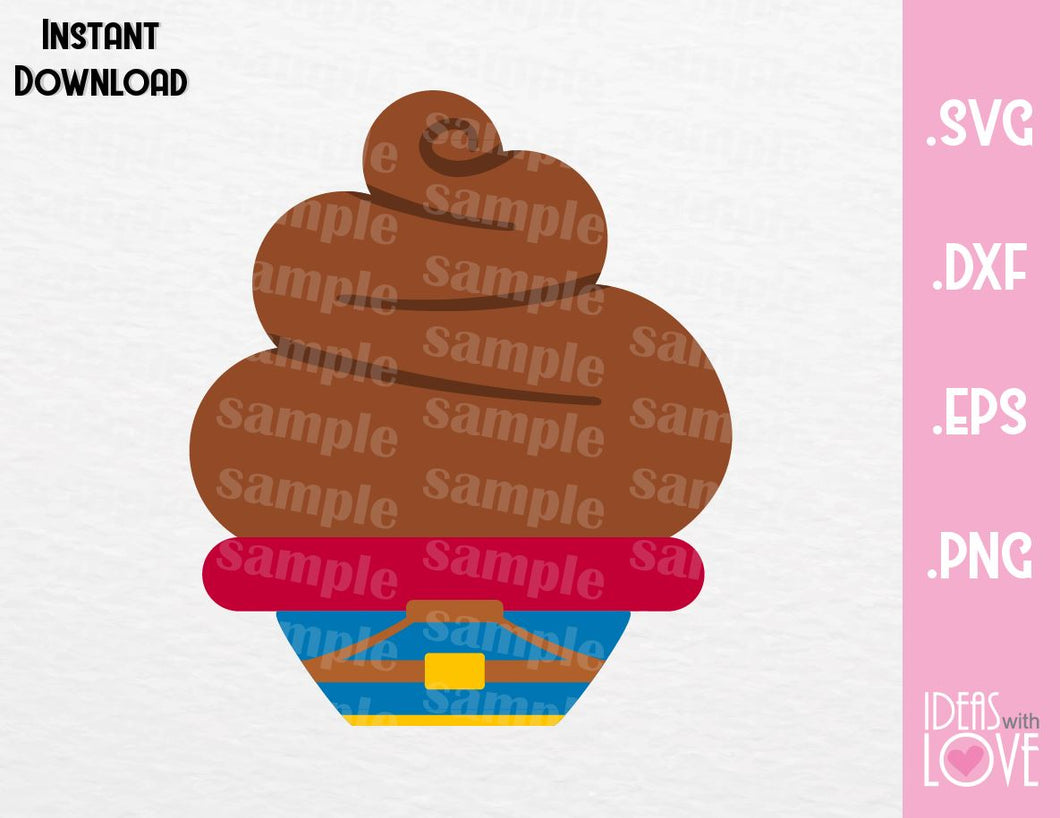 Prince Ferdinand Cupcake Cutting File in SVG, EPS, DXF and PNG Format