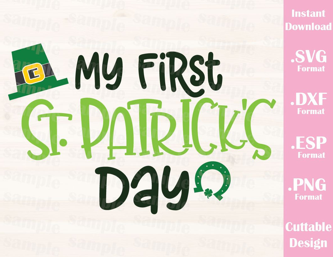 St Patricks Day Quote My First St Patricks Day Baby Kid