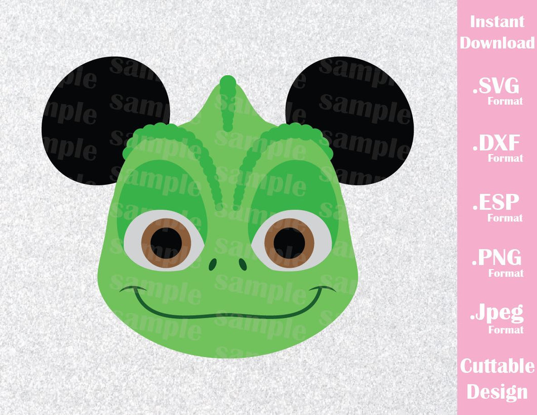 Pascal Mickey Ears Rapunzel Inspired Cutting File In Svg Esp Dxf Pn Ideas With Love