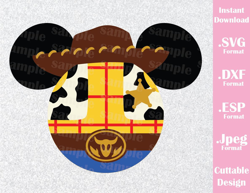 Woody From Toy Story Mickey Ears Disney Inspired Family