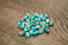 Loose turquoise nuggets