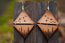 Lodgepole Forest Earrings - Diamond