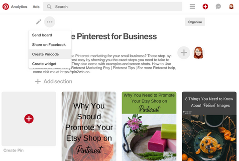Create Pincodes for Pinterest Boards. Simple, free Pinterest marketing tools for business.