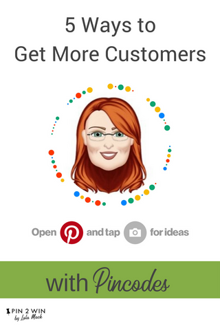 Want more customers? Get them on board with Pinterest Pincodes, that link directly to your profile or Pinterest boards. Print them on business cards or print them out and hand them out at events. Pincodes are simple and easy Pinterest marketing tools for your business. Read the blog for more tips on how to use Pincodes or pin this to read later.