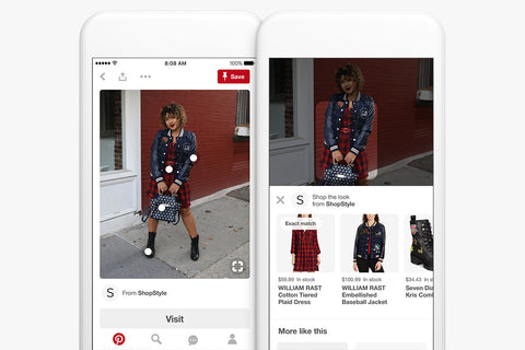 Shop the Look Pinterest Pin eaxmple
