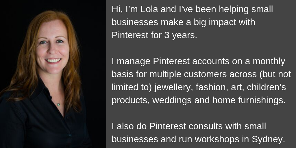 About Lola Mack from Pin2Win | Pinterest Marketing