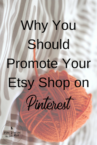 Promote Etsy with Pinterest Marketing