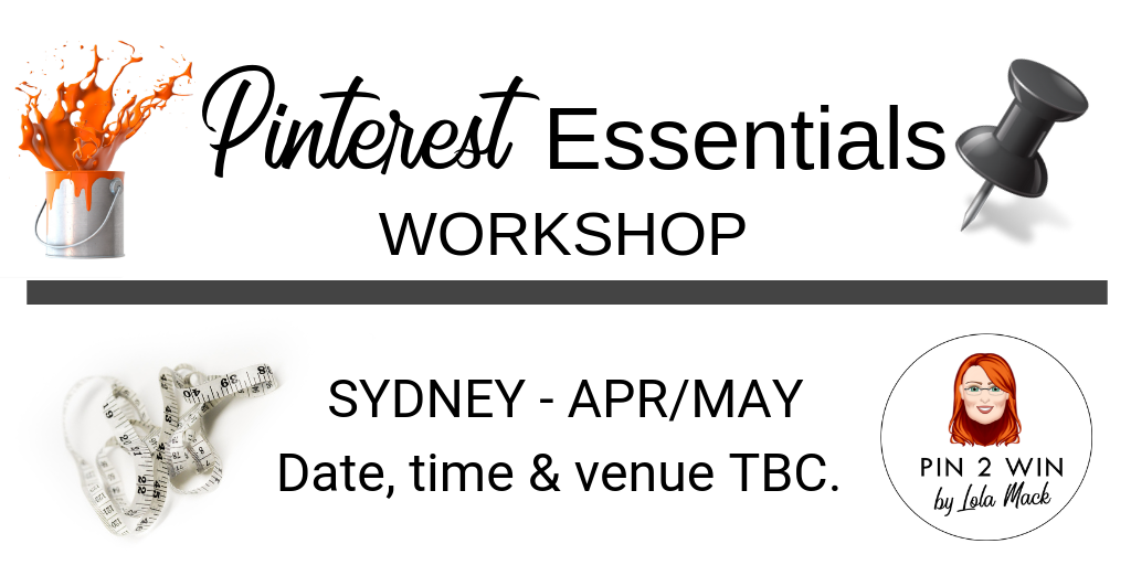 Pinterest Essentials Workshop in Sydney | Learn How to Use Pinterest Marketing for Your Business