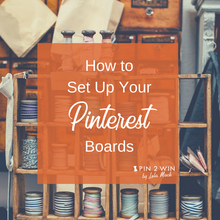 This Pinterest guide takes you step-by-step through setting up Pinterest boards. You'll learn about Pinterest board types, how/where to use keywords & much more.