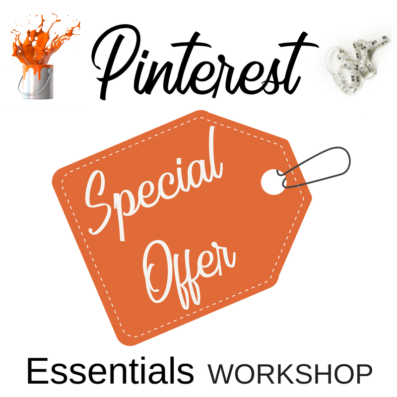 Pinterest Marketing Workshop Special Offer