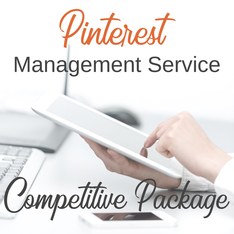 Pinterest Management Service for Small Businesses - Competitive Package
