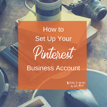 Pinterest help is here! Set up your Pinterest business account with step-by-step instructions, screen shots and examples to get you started on your Pinterest marketing journey with Pin2Win by Lola Mack.