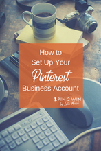Want to learn how to use Pinterest for business? Start here by setting up your Pinterest business account with step-by-step instructions, screen shots and examples to get you started on your Pinterest marketing journey with Pin2Win by Lola Mack.
