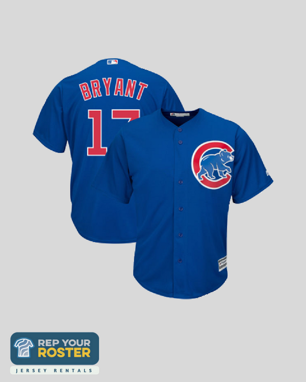 041763662 ... Kris Bryant Chicago Cubs Jersey Adult Blue .