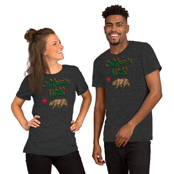 California Wild! Short-Sleeve Unisex T-Shirt