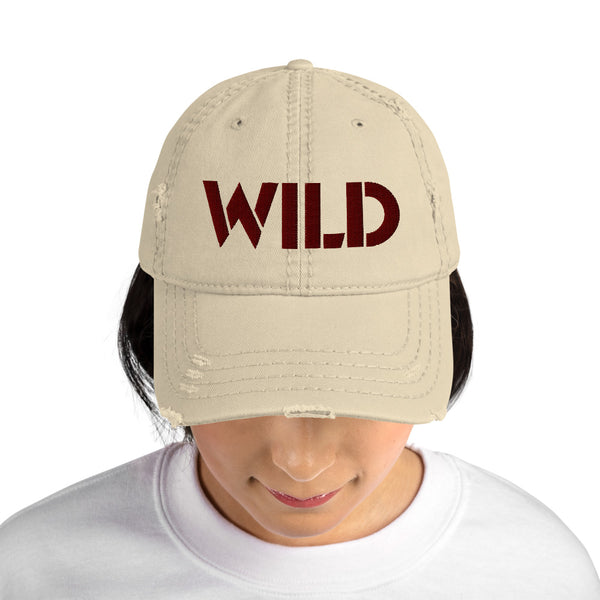 Wild One! Distressed Dad Hat