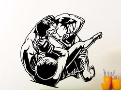 MMA Fighters Wall Sticker