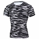 Dry Camo T Crossfit Compression Shirt