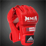 MMA Half Finger Fighting Mitts
