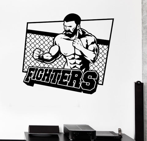 MMA art stickers