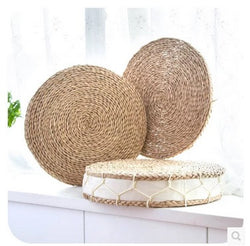 Hand weave seat for meditation