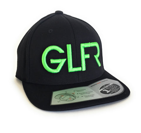 GLFR Snap Back - Green Letters