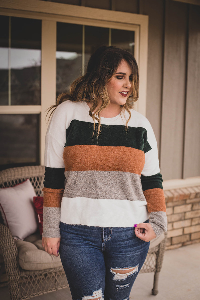 Crusin' ColorBlock Sweater