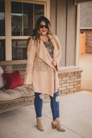 Janis Textured Duster