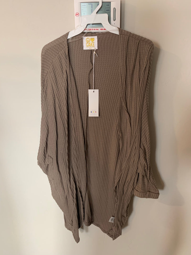 Cabin Fever Cardigan (taupe)