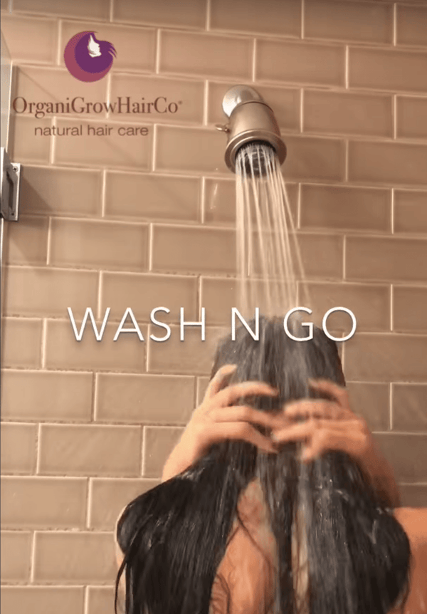 Full Wash Style n Go on 3B/3C low porosity hair | OrganiGrowHairCo