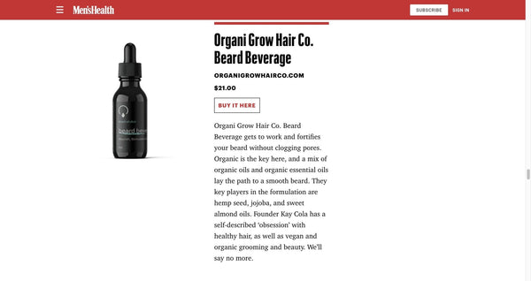 Men's Health | OrganiGrowHairCo