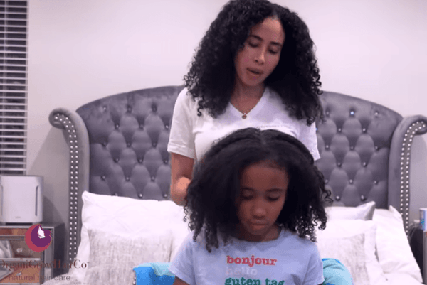 Save Your Hair Prevent Shedding With This Detangling Method (Detangling Hack) | OrganiGrowHairCo