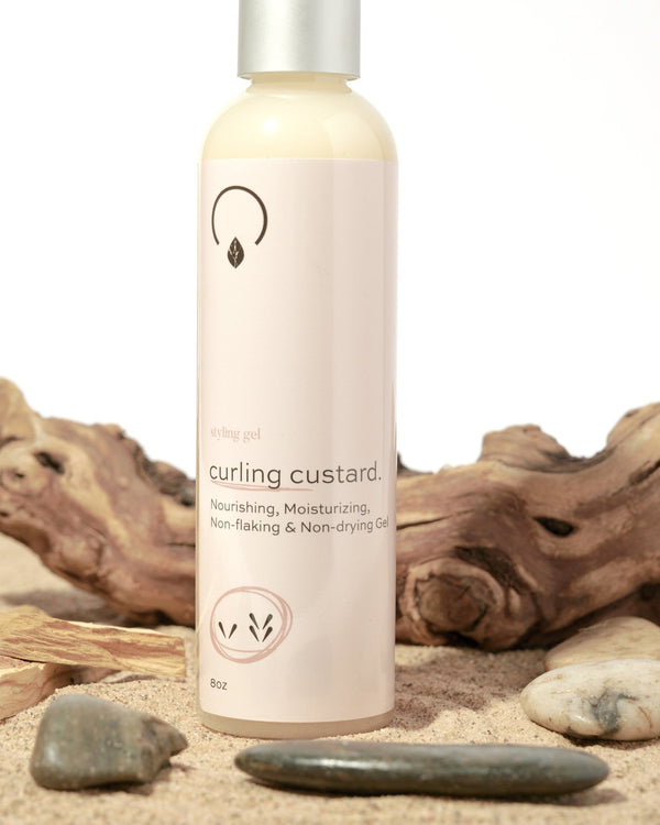 Conditioning Curling Custard Low to Medium Porosity - OrganiGrowHairCo