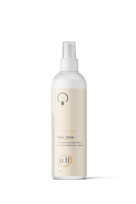 Hair Dew – Medium/High Porosity Leave In - OrganiGrowHairCo