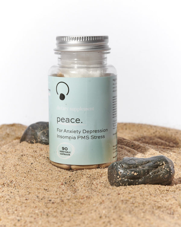 Peace Pills (For Anxiety Insomnia PMS Depression) - OrganiGrowHairCo