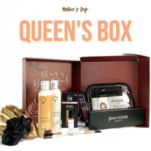 Queen's Box - OrganiGrowHairCo