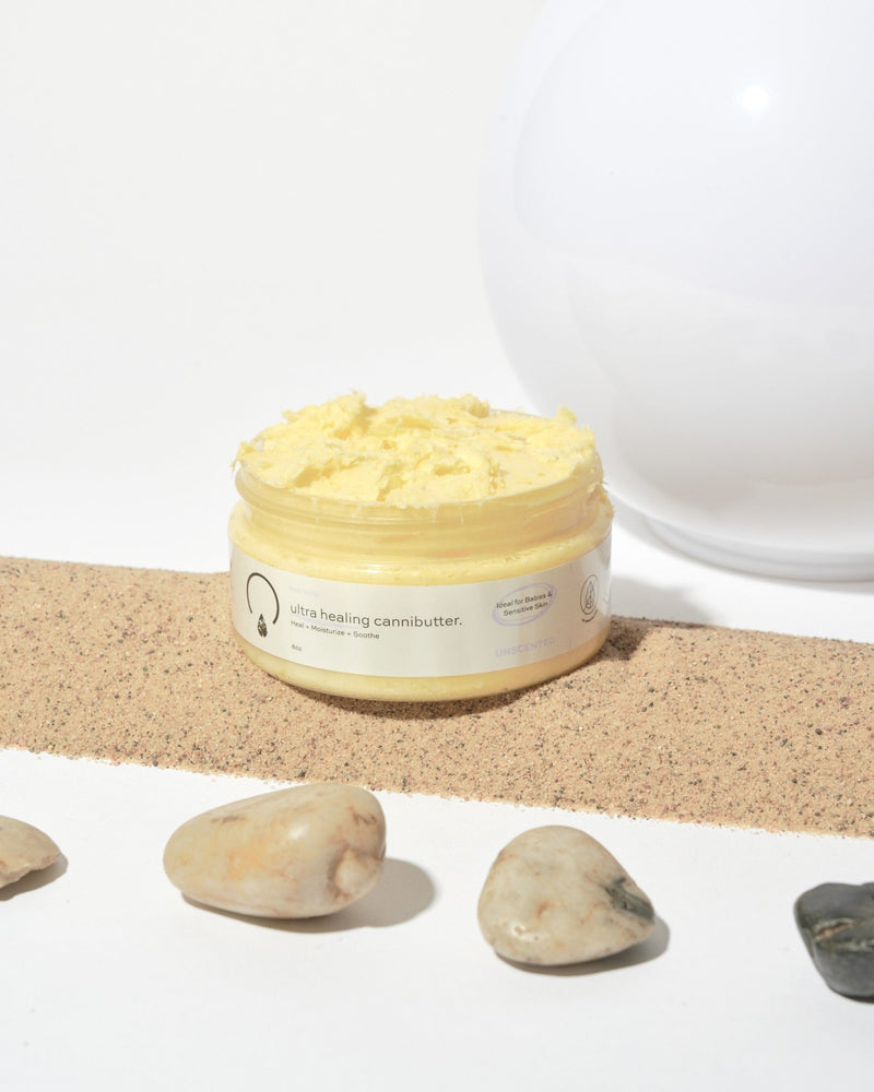 Ultra Healing CanniButter for Babies and Sensitive Skin - OrganiGrowHairCo