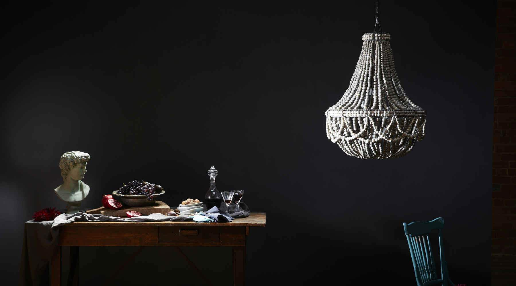 Clay Beaded Chandeliers Pendant Lights Lamps And Jewellery