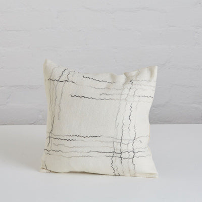 klaylife Hand Felted Linear Cushion