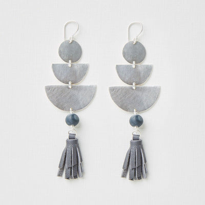 "Clay Bead Earrings ""Isisa"""