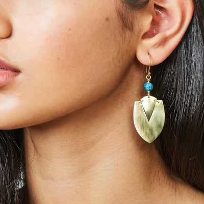 """Nandi Mini"" Clay Bead Earrings"
