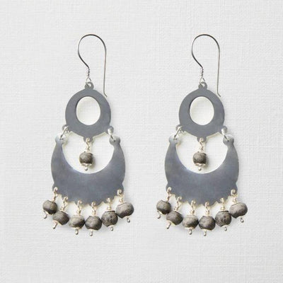 """Shaka Mini"" Clay Bead Earrings"